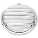 Chrome 3-Hole Nostalgia Derby Cover - 0177-2009-CH