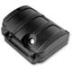 Black Ops Scallop Design Transmission Top Cover - 0203-2007-SMB