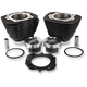 Black 1250cc Bolt-On Big Bore Kit - 201-419W