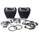 Black 131 in. Monster Big Bore Kit - 201-136W