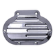 Chrome Finned Transmission Side Cover - 1360-C