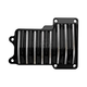 Black Finned 6 Speed Transmission Top Cover - C1370-B