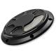 Satin Black Laser Fusion Derby Cover - LA-F430-00M