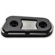 Matte Black Inspection Cover - LA-F440-00M
