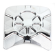 Artistic Chrome Inspection Cover Insert - LA-F440-04