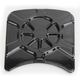 Decadent Black Powdercoat Inspection Cover Insert - LA-F440-04B