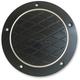 Black Anodized Platinum Cut Derby Cover - TC-026B