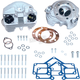 Super Stock 3 5/8 in. Bore O-Ring Style Single Plug Cylinder Head Kit (Natural) - 90-1497