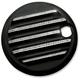 Diamond Finned Fuel Door Cover - C1126-D
