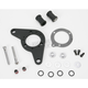 Wrinkle Black Carb Support Bracket and Breather Kit - DM-53WR