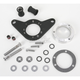 Chrome Carb Support Bracket and Breather Kit - DM-54WR
