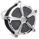 Chrome Venturi Speed 5 Air Cleaner - 0206-2002-CH