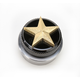 Brass Nautical Star Spinner Gas Cap - NSBRASSWELD