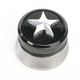 Polished Nautical Star Spinner Gas Cap - NSPLSHWELD