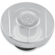 Chrome Scallop Custom Dummy Gas Cap - 02102019SCACH
