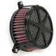 Black Spoke Air Cleaner - 06-0137-04B