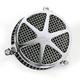 Chrome Spoke Air Cleaner - 06-0467-04