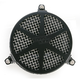 Black Spoke Air Cleaner - 06-0467-04B