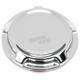 Chrome Beveled Vented Gas Cap - 70-001