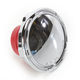 Chrome Slot Track Non-Vented Gas Cap - 70-115