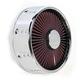 Chrome Gatlin Truflo Air Cleaner - ACX-03C-14C