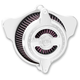 Chrome Blunt Radial Air Cleaner - 0206-2102-CH