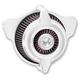Chrome Blunt Power Air Cleaner - 0206-2107-CH