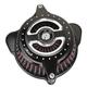 Contrast Cut Blunt Radial Air Cleaner - 0206-2103-BM