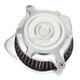 Machine Ops Split Radial Blunt Air Cleaner - 0206-2104-SMC