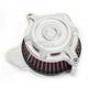 Machine Ops Split Radial Blunt Air Cleaner - 0206-2105-SMC