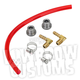 Red Gas Tank Fuel Sight Gauge Kit - 003671
