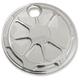 Chrome Fusion Fuel Door - LA-F310-01