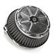Artistic Chrome Fusion Air Cleaner - LA-F200-00