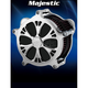 Airstrike Chrome Majestic Air Cleaner - AC-02C-102C