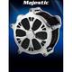Airstrike Chrome Majestic Air Cleaner - AC-03C-102C