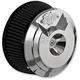 Chrome Grenade Air Cleaner - 70045