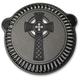 Black Celtic Cross Air Cleaner Kit - LA-2397-00B