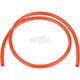 6mm I.D. 1/4 in. Orange Fuel Line - 0706-0304