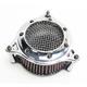 Chrome RPT Air Intake - 606-0100-05