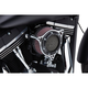 Black Ring w/Chrome Frame RPT Air Intake - 606-0102-05BC