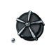 Black/Chrome ECE Compliant Mach 2 Air Cleaner - 9659