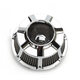 Chrome Inverted Series Beveled Air Cleaner - 18-918