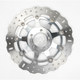 Polished Pro-Lite Contour Brake Rotor - MD4012SCC