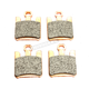 Double-H Sintered Metal Brake Pads - EPFA369/4HH
