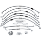 Cruiser Front and Rear Brake Line Kit - R09352S