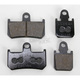 Front Sintered Metal Brake Pads - VD277