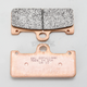 Front Extreme Performance Brake Pads for Brembo Two-Piece 4-Piston Calipers - EPFA218HH