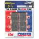 Front Excel HS Sintered Metal Street Brake Pads - 740HS