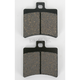 Rear Street HF Ceramic Brake Pads - 747HF