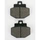 Rear Street HF Ceramic Brake Pads - 772HF